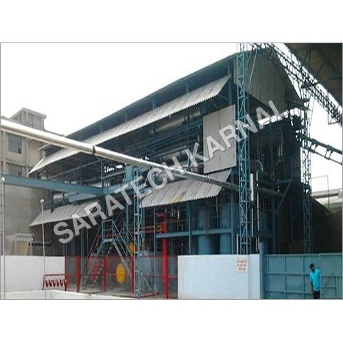Spent Earth Oil Recovery Plant