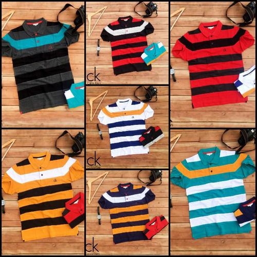 Mens Collar Neck Surplus Polo T-Shirt