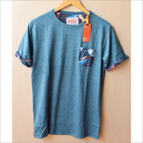 Mens Surplus Half Sleeve Plain T Shirt