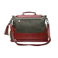 Canvas Bag Leather