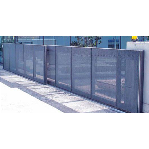 Front Sliding Folding Telescopic Gate