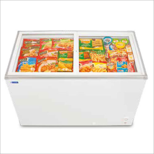 Glass Top Deep Freezers
