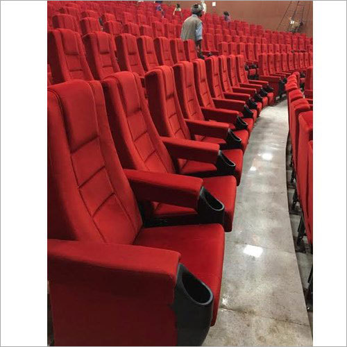 ABP Red Sliding Theatre Chair