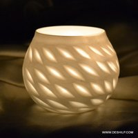 Home Decor Beautiful Glass Candle Holder