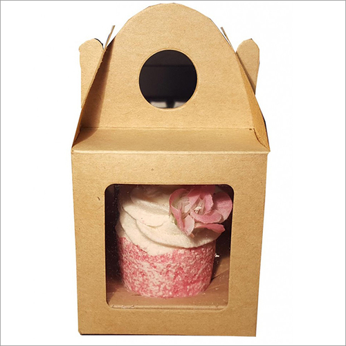 Kraft Cupcake Box