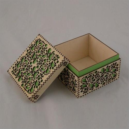 Lazer Cut MDF Boxes