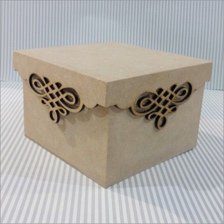 Lazer Cut MDF Boxes