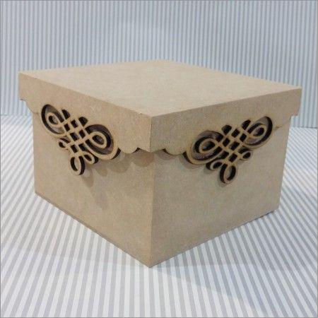 Laser Cut MDF Boxes