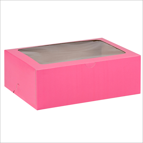 Pink Pizza Boxes