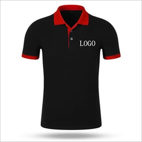 Customized Collar T-Shirts Printing Service