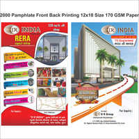 Pamphlet Printing Service