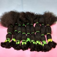 Unprocessed Wholesale Bulk Weft 100% Human Hair Extension