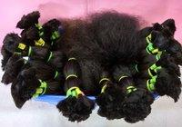 Unprocessed Wholesale Bulk Weft 100% Human Hair Extension
