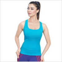 Ladies Plain Spaghetti Tank Slip