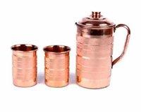 Designer copper jug