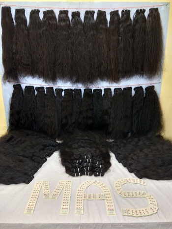 Black Women Natural Texture Indian Human Hair