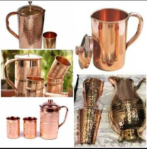 Designer antique copper jug
