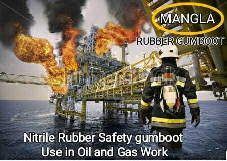 Heat Resistant Industrial Gumboot