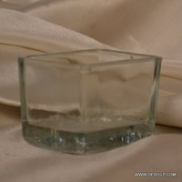 Clear Glass Small T Light Candle
