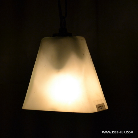 Frosted Glass Wall Hanging Lamp