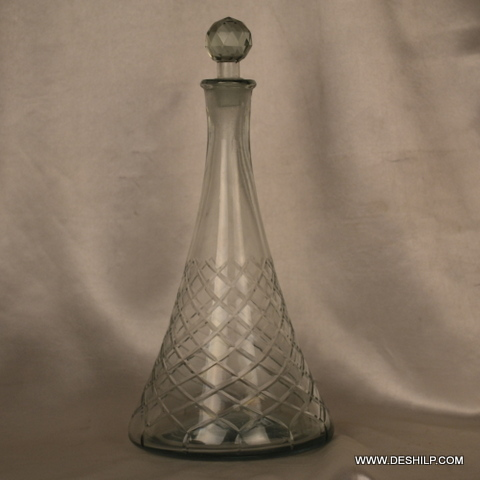 Glass Clear Perfume Bottle