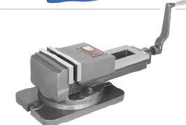 Shaper Vice Swivel Model - With Serrated Jaws