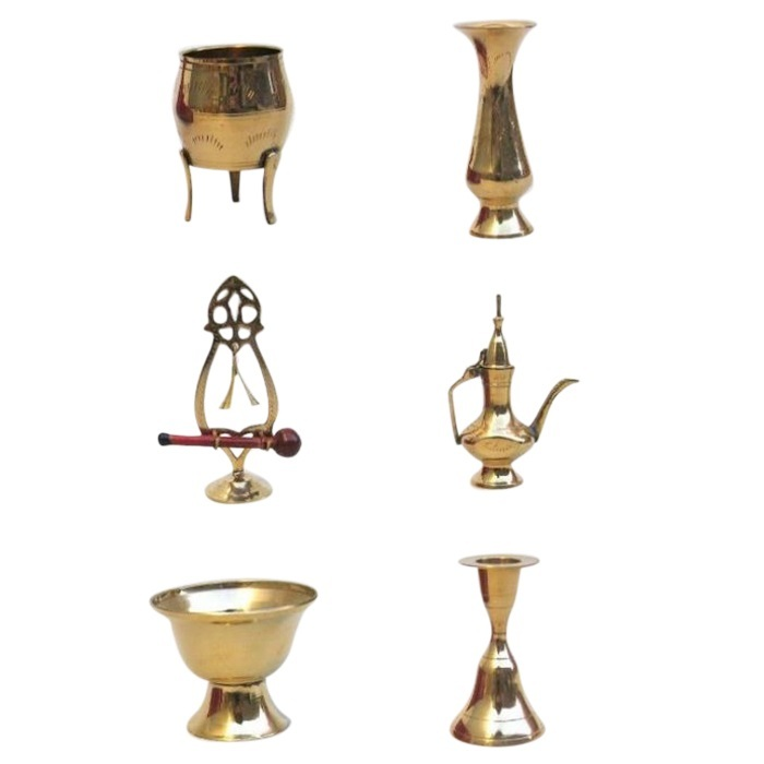 Pure Solid Brass Assortment