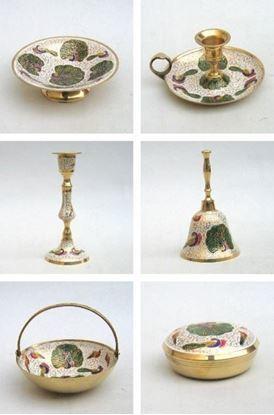 Solid Brass Assortment Peacock