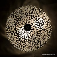 Black & White Mosaic Wall Ceiling Light