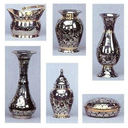 Brass Gift Set with Chrome Black