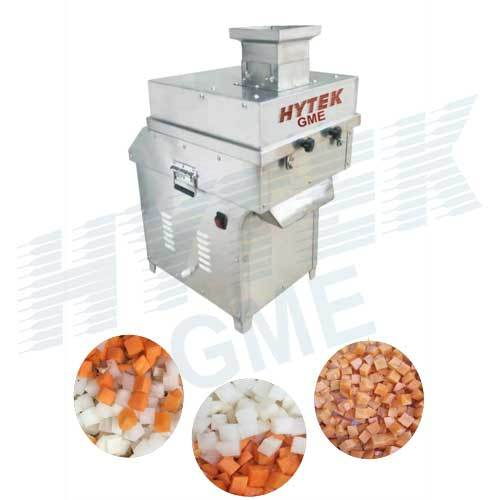Vegetable Cubing Machine
