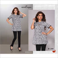 Ladies Cotton Tunic Top