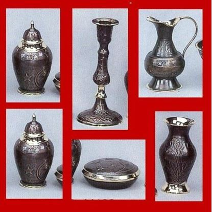 Antique Brass Gift Set
