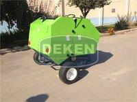 China produce mini round baler for sale