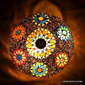 Colorful Glass Ceiling Light