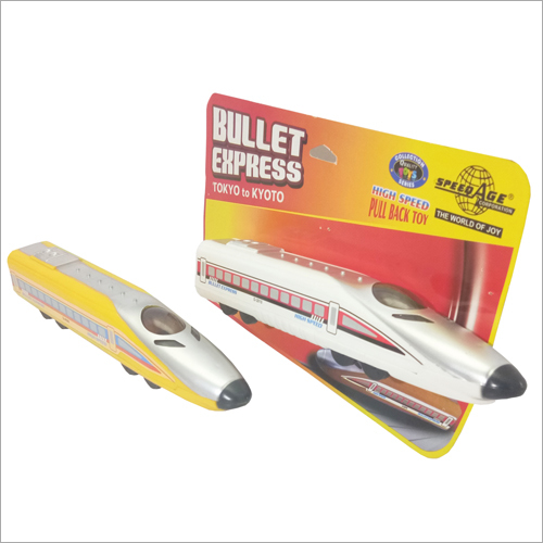 Plastic Bullet Train Toy