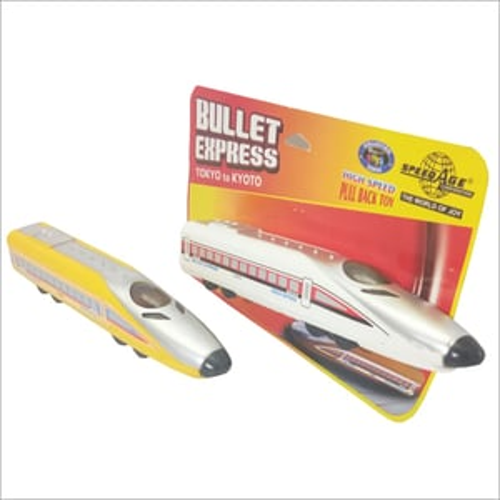 Plastic Bullet Train Toy