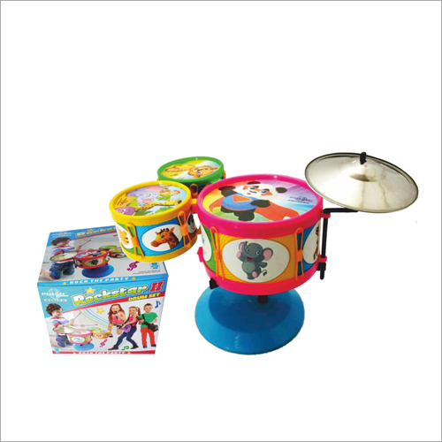 Rockstar 2 Drum Set Toy
