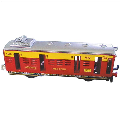 Plastic Local Train Toy