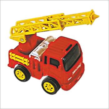 Plastic Firefighter Truck Toy