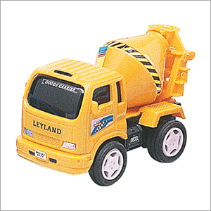 Plastic Cement Mixer Truck Toy