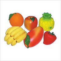 6 Pcs Fruit Toy Set