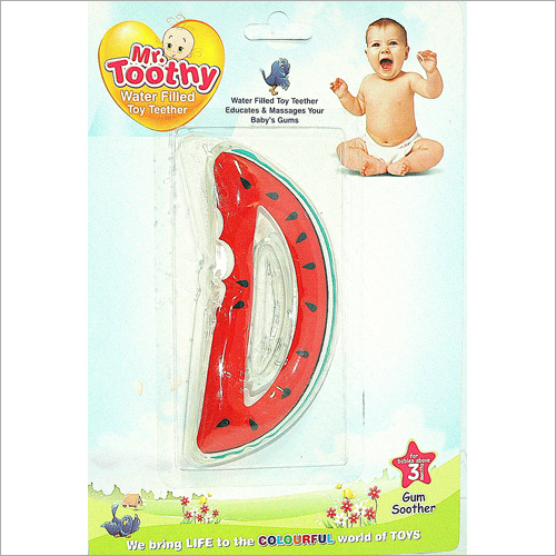 PVC Water Filled Watermelon Shape Teether