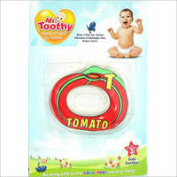 PVC Water Filled Tomato Shape Teether