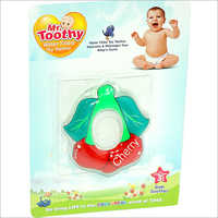PVC Water Filled Cherry Shape Teether