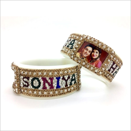 Couple Name Wedding Bangle