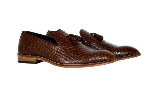 Men's Brown Formal Leather Shoes