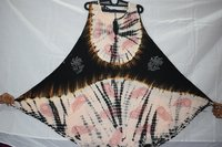 Tie Dye Flared Umbrella Dress