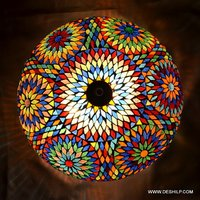 Multi Mosaic Ceiling Light