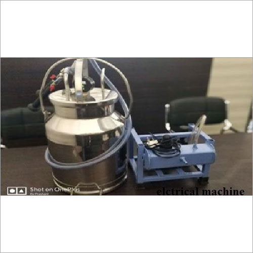 Electrical Operated Milking Machine